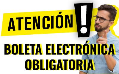 Boleta Electrónica Obligatoria 2020